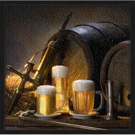 Topný obraz - Pivní sklípek