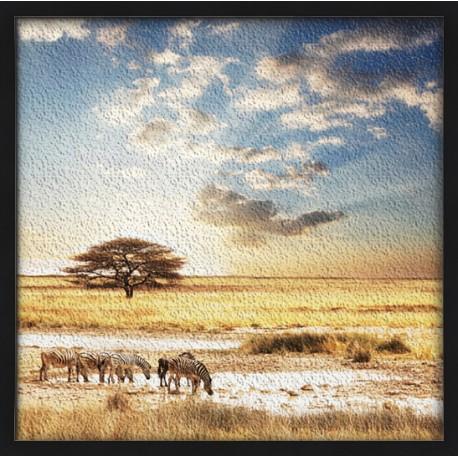 Topný obraz - Savana