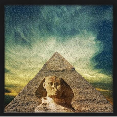 Topný obraz - Sfinga a pyramida