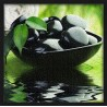 Topný obraz - Lávové kamínky