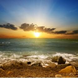 infrapanel - Rozbřesk na pláži