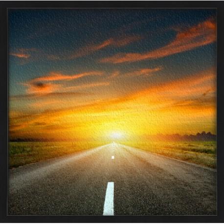 Topný obraz - Rychlostní silnice