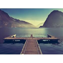 infrapanel - Molo na jezeře
