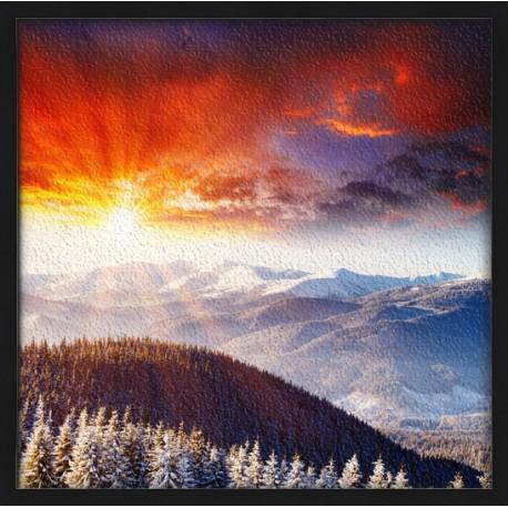 Topný obraz - Zamrzlá krajina