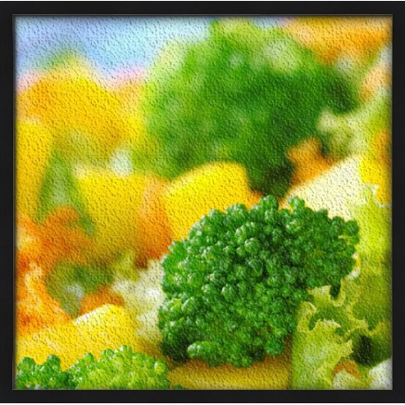 Topný obraz - Zelenina