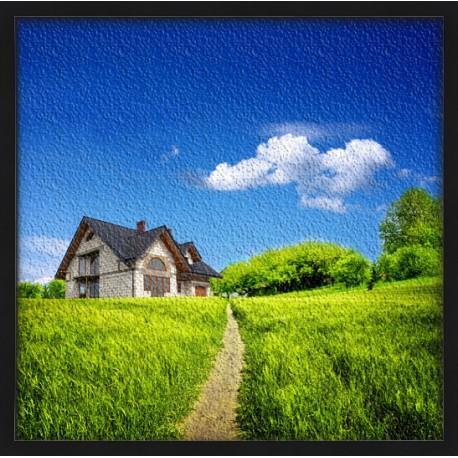 Topný obraz - Venkovský domek