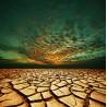 Topný obraz - Vyprahlá pustina
