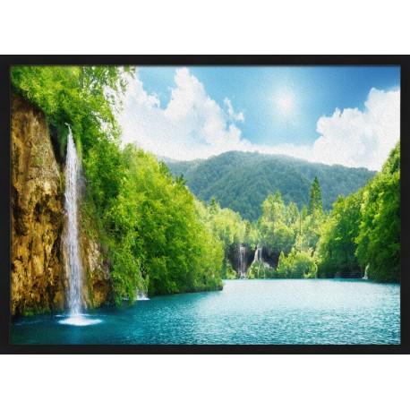 Topný obraz - Vodopády