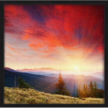 Topný obraz - Horská krajina