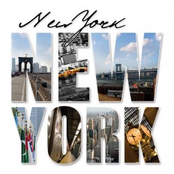 infrapanel - Nápis New York