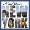 Topný obraz - Nápis New York