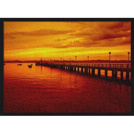 Topný obraz - Západ Slunce