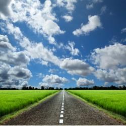 infrapanel - Silnice na venkově