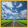 Topný obraz - Silnice na venkově