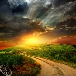 infrapanel - Západ slunce v Irsku