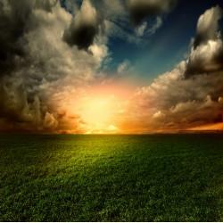 infrapanel - Vycházející slunce