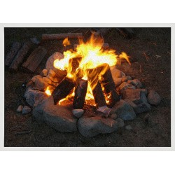 Topný obraz - Ohniště
