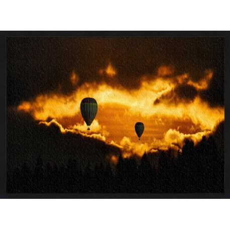 Topný obraz - Horkovzdušný balón