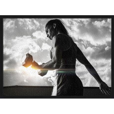 Topný obraz - Fitness trénink
