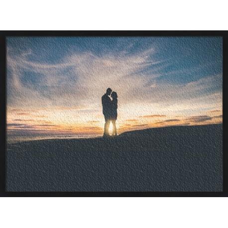 Topný obraz - Silueta páru