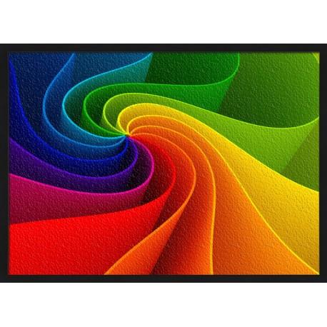 Topný obraz - Barevná abstrakce
