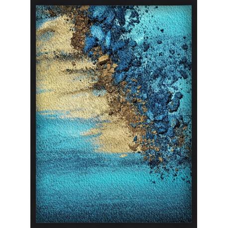 Topný obraz - Abstraktní písek
