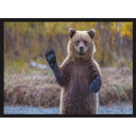 Topný obraz - Medvěd