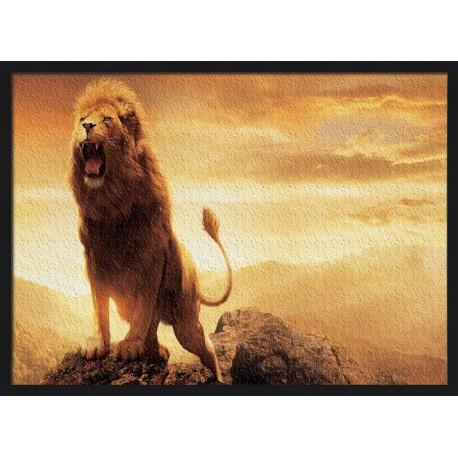 Topný obraz - Lví řev