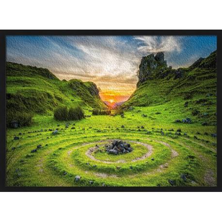 Topný obraz - Keltská krajina