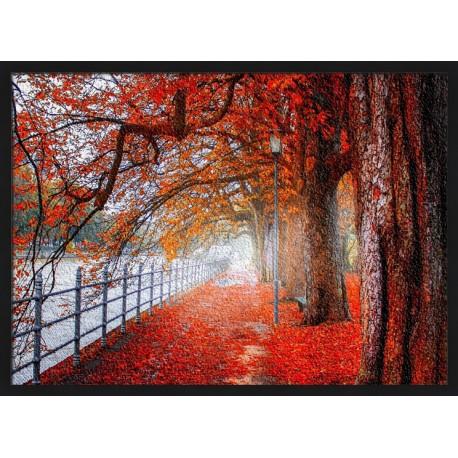 Topný obraz - Červený podzim