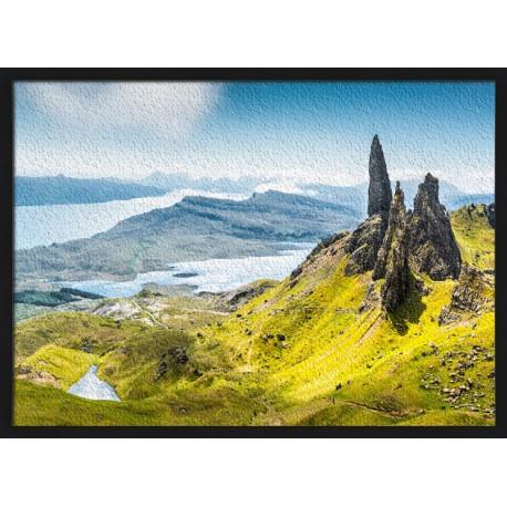 Topný obraz - Kopec ve Skotsku