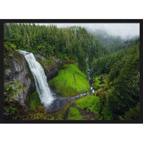 Topný obraz - Karjatský vodopád