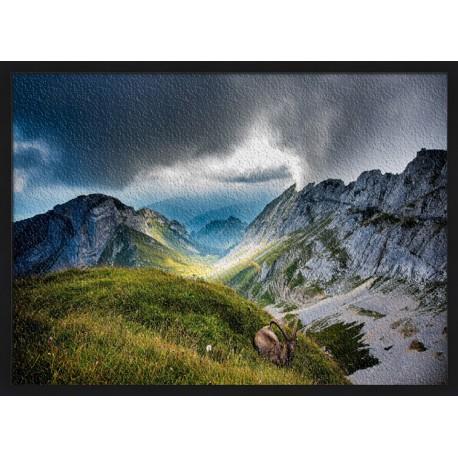 Topný obraz - Švýcarské hory