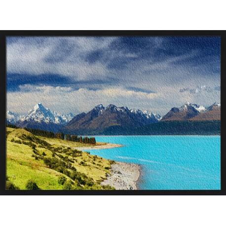 Topný obraz - Jezero Pukaki