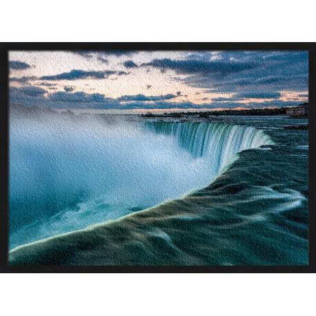 Topný obraz - Niagarské vodopády