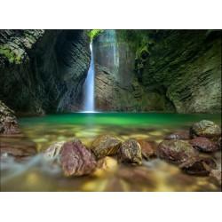 infrapanel - Jeskynní vodopád