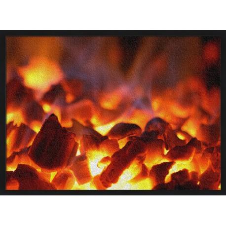 Topný obraz - Oheň